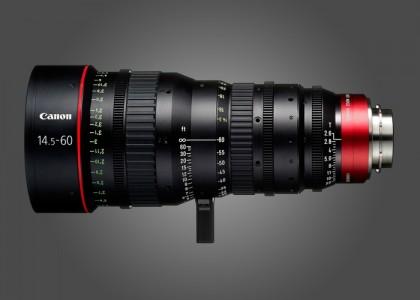 Canon CN-E14.5-60mm T2.6 L S Lense