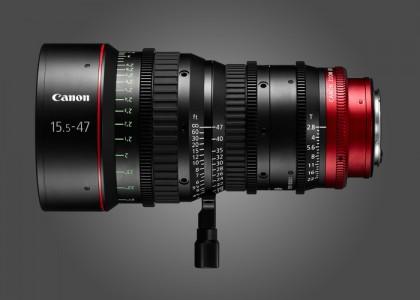 Canon CN-E15.5-47mm T2.8 L S Lense